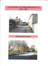 Errata to Neighbourhood Plan circulated to all households.