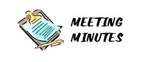 MINUTES FROM MAY'S PARISH MEETINGS